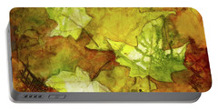 Leaves Portable Battery Charger by Terry Honstead