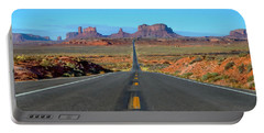 Leaving Monument Valley Portable Battery Charger
