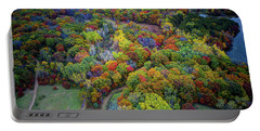 Lebanon Hills Park Eagan Mn Autumn II By Drone Portable Battery Charger