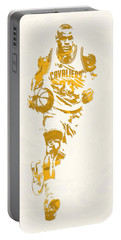 Lebron James Cleveland Cavaliers Pixel Art 11 Portable Battery Charger