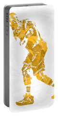 Lebron James Cleveland Cavaliers Pixel Art 13 Portable Battery Charger