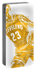 Lebron James Cleveland Cavaliers Pixel Art 20 Portable Battery Charger