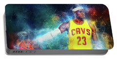 Lebron James Portable Battery Charger