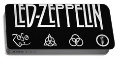 Led Zeppelin 2 Portable Battery Charger