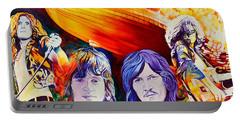 Led Zeppelin Portable Battery Charger by Joshua Morton