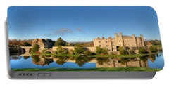 Leeds Castle And Moat Reflections Portable Battery Charger