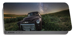 Left To Rust Portable Battery Charger by Aaron J Groen