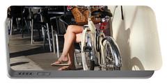 Leg Power - On Montana Avenue Portable Battery Charger