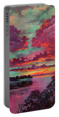 Legend Of A Sunset Portable Battery Charger