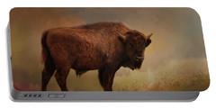 Legend Of Buffalo Spirit Portable Battery Charger
