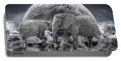 Legends Live On Portable Battery Charger by Nichola Denny