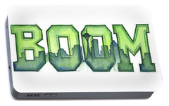 Legion Of Boom Portable Battery Charger by Olga Shvartsur