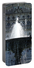Legislature Fountain Portable Battery Charger