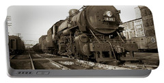 Lehigh Valley Steam Locomotive 431 At Wilkes Barre Pa. 1940s Portable Battery Charger
