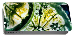 Portable Battery Charger featuring the photograph Lemon And Lime by Marianna Mills