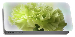 Lemon Carnation Portable Battery Charger