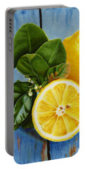 Lemon Fresh Portable Battery Charger