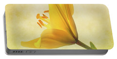 Portable Battery Charger featuring the photograph Lemon Lily by Roy McPeak