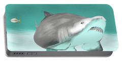 Lemon Shark Portable Battery Charger