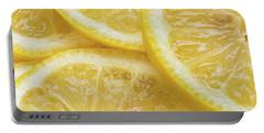 Lemon Slices Number 3 Portable Battery Charger