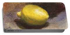 Lemon Still Life Portable Battery Charger