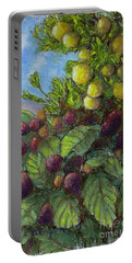 Lemons And Berries Portable Battery Charger