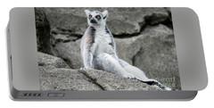 Lemur The Cutie Portable Battery Charger