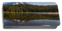 Lenticular Cloud At Reflection Lake Portable Battery Charger