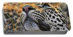 Leopard Aloft Portable Battery Charger