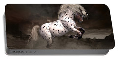 Leopard Appaloosa Shiloh Portable Battery Charger by Shanina Conway
