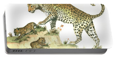 Leopard Family Portable Battery Charger