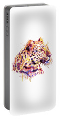 Leopard Head Portable Battery Charger