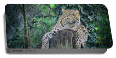 Leopard Lookout Portable Battery Charger