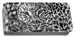 Portable Battery Charger featuring the photograph Leopard by Lucia Sirna