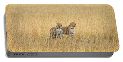 Leopard Pair Portable Battery Charger