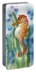 Leopard Seahorse Portable Battery Charger