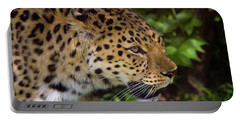 Portable Battery Charger featuring the photograph Leopard by Steve Stuller