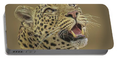 Leopard Tee Portable Battery Charger
