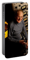 Les Paul With The Octopus By Gene Martin Portable Battery Charger