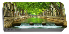 Les Quais De La Fontaine Nimes Portable Battery Charger