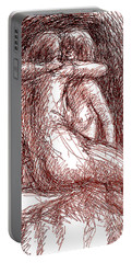 Lesbian Sketches 1b Portable Battery Charger