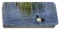 Lesser Scaup Adult Male Portable Battery Charger