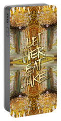 Let Her Eat Cake Marie Antoinette Versailles Bedroom Portable Battery Charger