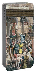 Let Him Be Crucified Portable Battery Charger