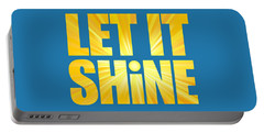 Let It Shine Sun Portable Battery Charger