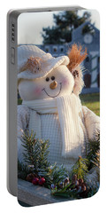 Portable Battery Charger featuring the photograph Let It Snow by Patrice Zinck