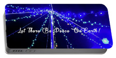 Let There Be Peace On Earth Portable Battery Charger by Phil Mancuso