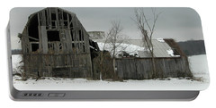 Letchworth Barn 0077b Portable Battery Charger by Guy Whiteley