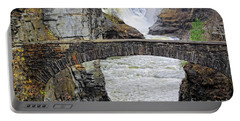 Letchworth Lower Falls Portable Battery Charger by Charline Xia