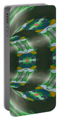 Let's Get Around It Abstract  Portable Battery Charger